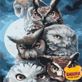 Купить картину по номерам ArtStory AS0399 Ночные охотники