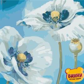Купить картину по номерам ArtStory AS0504 Белые цветы