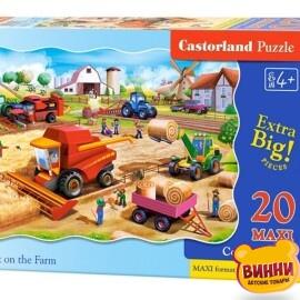 """Пазлы Касторленд махі 20 """"Работа на ферме"""" 59*40 см, C-02436"""