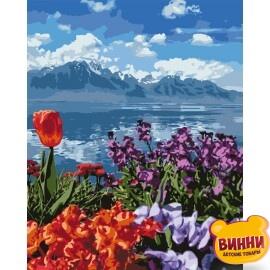 Цветочный рай, 40*50 см KHO2278