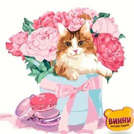 Купить картину по номерам Идейка Подарок с изюминкой, 30*30 см KHO4173