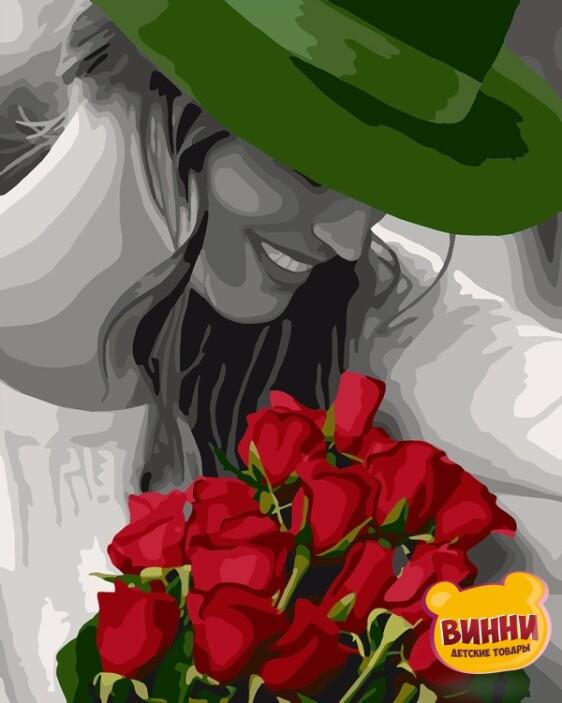 Купить картину по номерам Идейка Цветы любимой, 40*50 см KHO4705