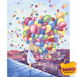 Купить картину по номерам Danko Toys 40*50 см, в коробке, KpN-01-03