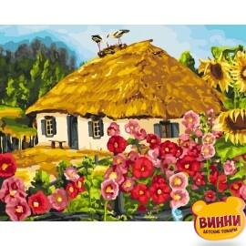 Купить картину по номерам Идейка Живописный пейзаж, 40*50 см KHO2286
