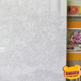 Купить картину по номерам Mariposa Букет и шкатулка, 40*50 см Q2197