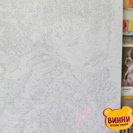Купить картину по номерам Mariposa Пушистый друг, 40*50 см Q2150