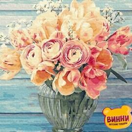 Купить картину по номерам RainbowArt Нежный букет, 40*50 см, GX34275