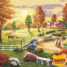 Купить картину по номерам RainbowArt Веселое лето, 40*50 см, GX34572