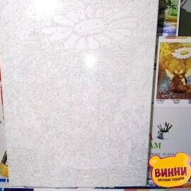 Купить картину по номерам Babylon Солнечный ангел с ромашкой, 30*40 см VK232