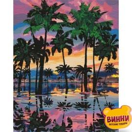Купить картину по номерам Идейка Южная романтика, 40*50 см KHO2289