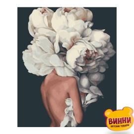 Купить картину по номерам Brushme 40*50 см, Женственные пионы GX29255