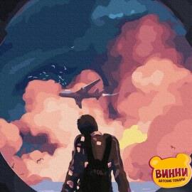 Купить картину по номерам Brushme 40*50 см, Мечты о полёте GX35340