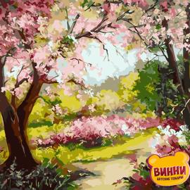 Купить картину по номерам ArtStory AS0027 Весенний сад