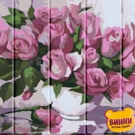 Купить роспись по номерам, картину на дереве ArtStory Розы 30*40 см, ASW001