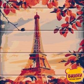 Купить роспись по номерам, картину на дереве ArtStory Париж 30*40 см, ASW023
