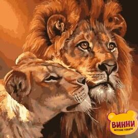 Купить картину по номерам Babylon Царственная пара, 30*40 см VK033