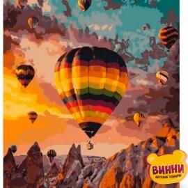 Купить картину по номерам Art Craft Воздушные шары Каппадокии, 40*50 см 10503