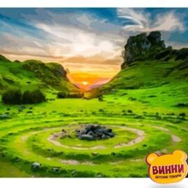 Купить картину по номерам Art Craft Долина фей. Шотландия, 40*50 см 10511
