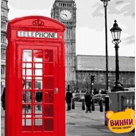 Купить картину по номерам Art Craft Звонок из Лондона, 40*50 см 11212