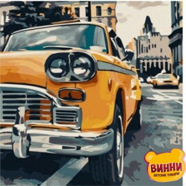 Купить картину по номерам Art Craft Такси, 40*40 см 10518