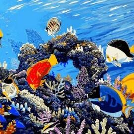 Купить картину по номерам Mariposa Коралловый риф, 40*50 см, Q2177
