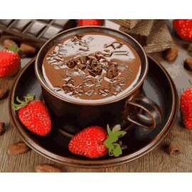 Купить картину по номерам Mariposa Клубничный шоколад, 40*50 см, Q2190