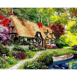 Купить картину по номерам Mariposa Сказочное лето, 40*50 см, Q2202