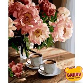 Купить картину по номерам Идейка Романтическое настроение, 40*50 см KHO3080