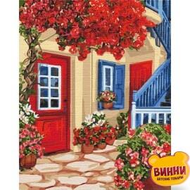 Купить картину по номерам Идейка Гуляя по улочкам, 40*50 см KHO3581