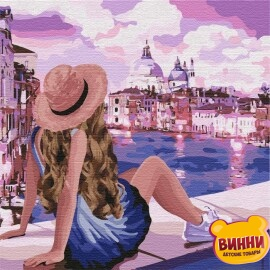 Купить картину по номерам Идейка Розовые мечты 3, 40*40 см KHO4742