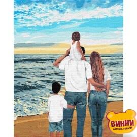 Купить картину по номерам Идейка Моя семья, 40*50 см KHO4743