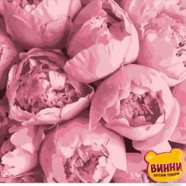 Купить картину по номерам Art Craft Розовая нежность, 40*40 см 13103