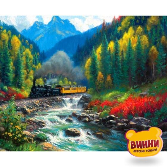 Купить картину по номерам на дереве Josef Otten Горы, 40*50 см, 8327RSBD