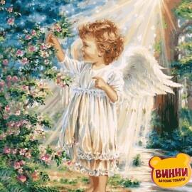Купить картину по номерам Babylon Весенний ангелочек, 40*50 см VP903