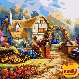 Купить картину по номерам Французский прованс, 40*50 см, VA-0203