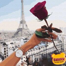 Купить картину по номерам Свидание в Париже, 40*50 см, VA-1169