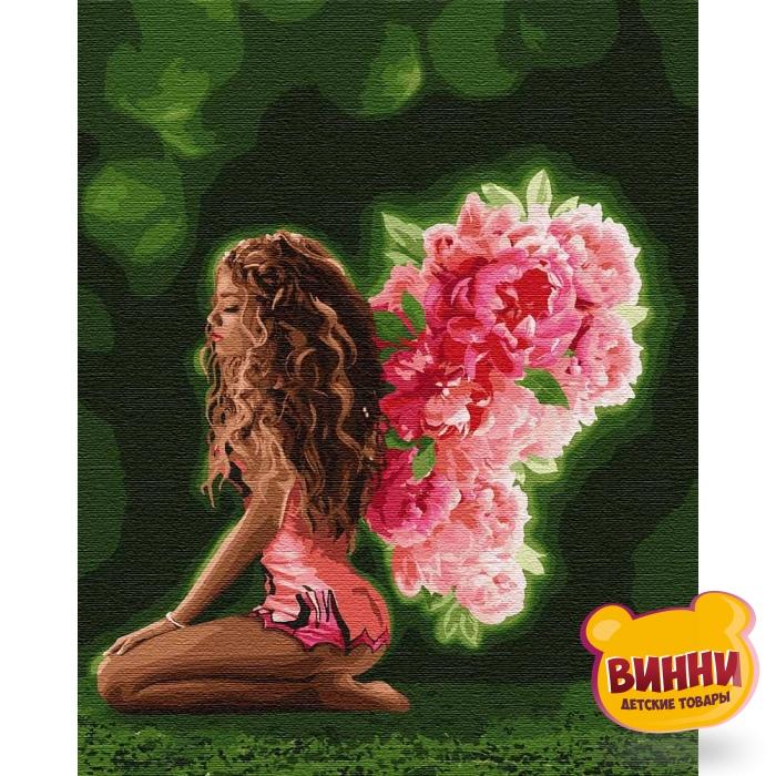 Купить картину по номерам Идейка Цветочные крылья, 40*50 см KHO4754