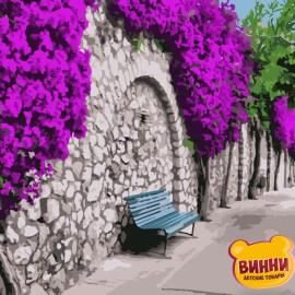 Купить картину по номерам Art Craft Бугенвиллия в Афинах, 40*50 см 10522