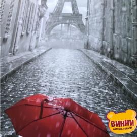 Купить картину по номерам Art Craft Красный зонт в Париже, 40*50 см 11207