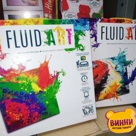"""Набор для создания картины в технике """"Fluid ART"""", 5 видов, в коробке"""