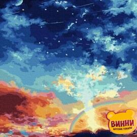 Купить картину по номерам RainbowArt Небо над вулканом 40*50 см, GT66159