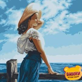 Купить картину по номерам RainbowArt Морской бриз, 40*50 см, GX22361