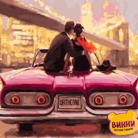 Купить картину по номерам RainbowArt Романтика городских огней, 40*50 см, GX26565