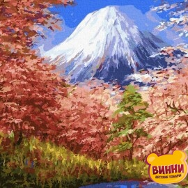 Купить картину по номерам RainbowArt Фудзияма 40*50 см, GX30191