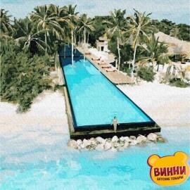 Купить картину по номерам RainbowArt Остров для двоих 40*50 см, GX30244