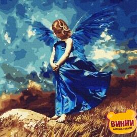 Купить картину по номерам RainbowArt Ангел, 40*50 см, GX31977