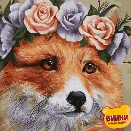 Купить картину по номерам RainbowArt Рыжая лисичка 40*50 см, GX34076