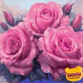 Купить картину по номерам RainbowArt Пышные розы 40*50 см, GX7903