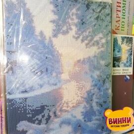 Купить алмазную мозаику Январское солнце 30*40 см, с рамкой, в коробке, H8440