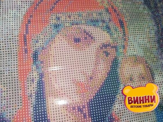 Купить алмазную мозаику Николай Чудотворец 30*40 см, без рамки, в коробке, H8091